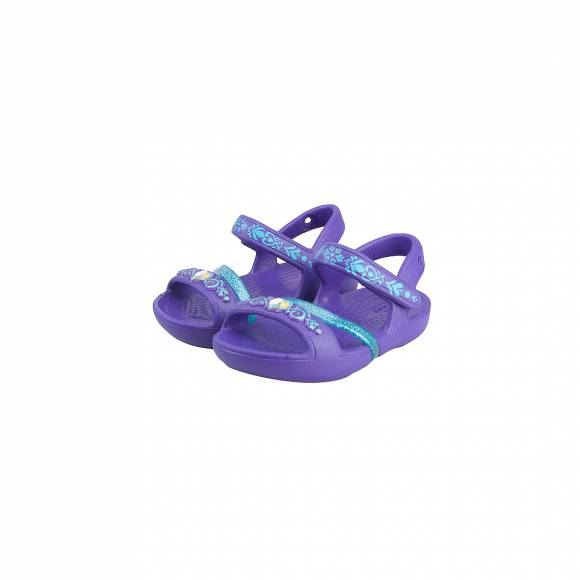 CROCS LINA FROZEN SANDAL K ULTRAVIOLET RELAXED FIT 204139-506
