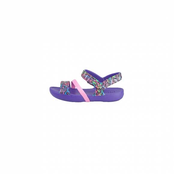 CROCS LINA SANDAL K ULTRAVIOLET RELAXED FIT 204030-506