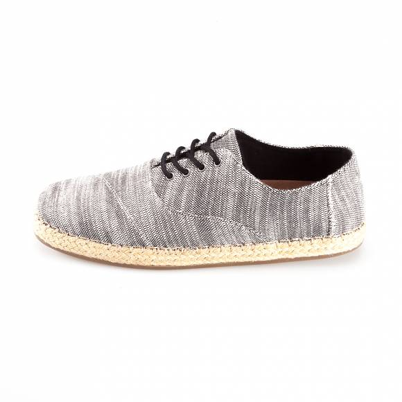 TOMS CAMINO LIGHT GREY WOVEN 10007961