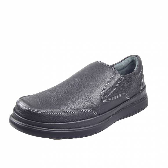 Ανδρικά Slippers Huss Puppies Bergen Slip on Em4976 Black
