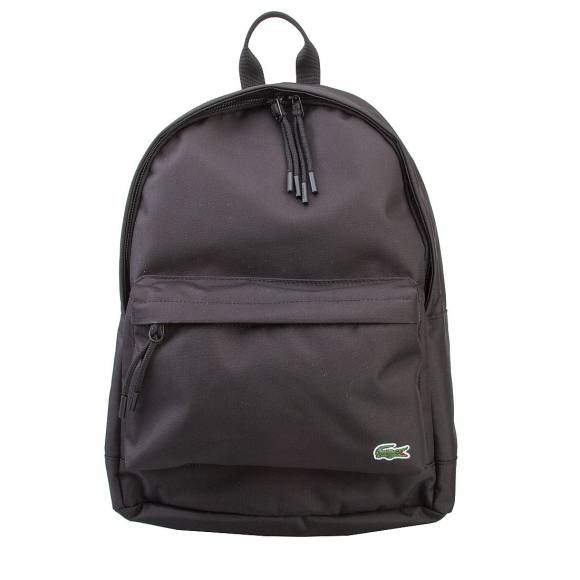 LACOSTE NH1595NE 991 BLACK BACKPACK