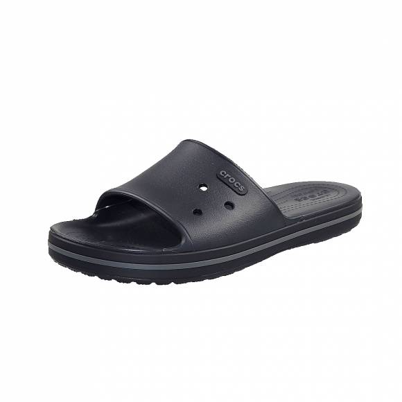 Ανδρικές Σαγιονάρες Crocs 205733 02S Crocband III Slide Black Graphite Relaxed Fit