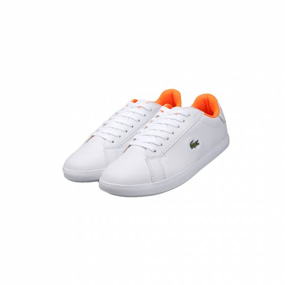 LACOSTE GRADUATE 118 1 SPW WHT/WHT LTH/SYN 7-35SPW003021G