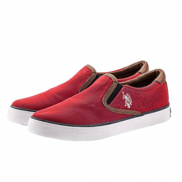 US POLO ASSN LEROY RED