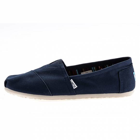 TOMS 10000866 CLASSIC NAVY CANVAS