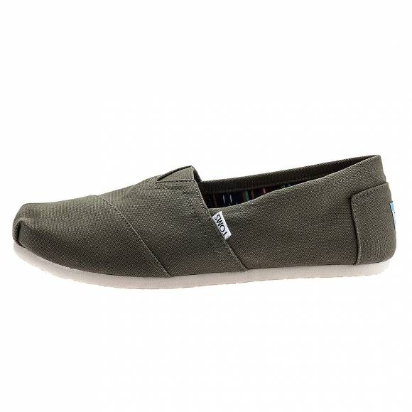 TOMS 10000863 CLASSIC OLIVE CANVAS