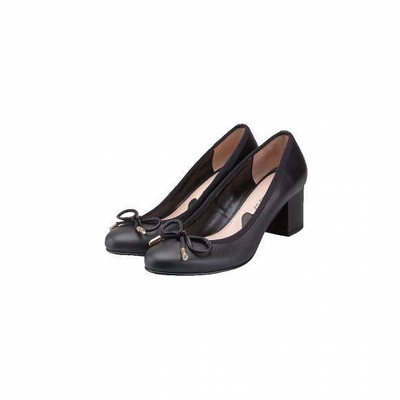 TOUTOUNIS 6715 BLACK LEATHER
