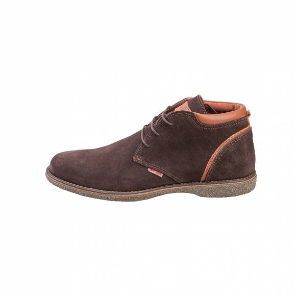 KRICKET SMOKE BROWN SUEDE