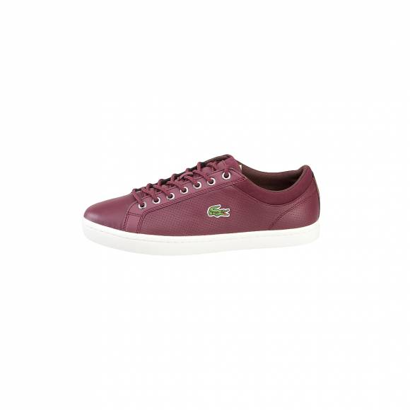 LACOSTE STRAIGHTSET SP 317 1 CAM BURG LEATHER/SYNTHETIC 7-34CAM00631V9