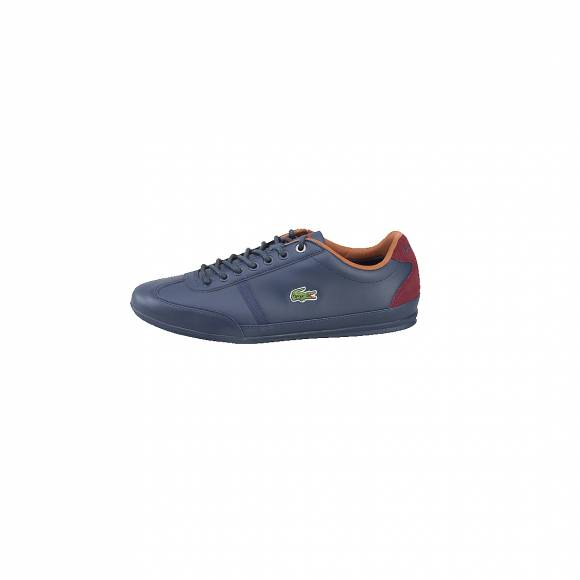 LACOSTE MISANO SPORT 317 1 CAM NVY LEATHER/SYNTHETIC/SUEDE 7-34CAM0046003
