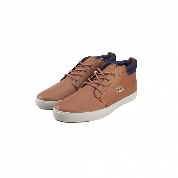 LACOSTE AMPTHILL TERRA 317 1 CAM BRW LTH SYN 7-34CAM0002078
