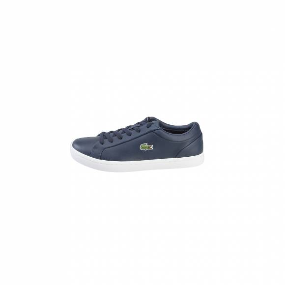 LACOSTE STRAIGHTSET LACE 317 3 CAW NVY LEATHER 7-34CAW0060003