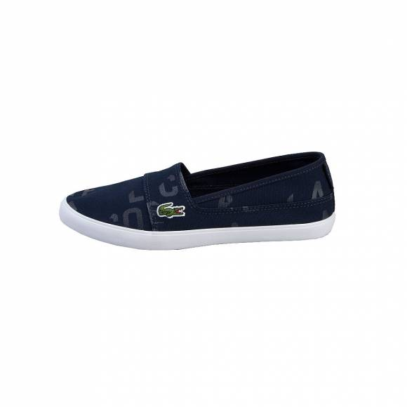 LACOSTE MARICE 117 2 CAW NVY CANVAS 7-33CAW1038003