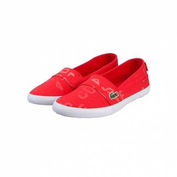 LACOSTE MARICE 117 2 CAW RED CANVAS 7-33CAW1038047