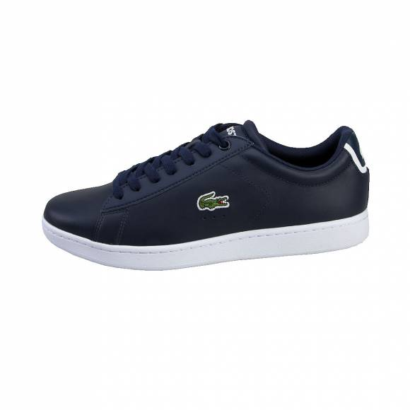 LACOSTE CARNABY EVO BL 1 SPM NVY LEATHER/SYNTHETIC 7-33SPM1002003