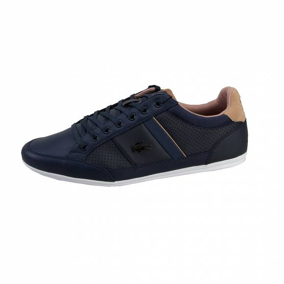 LACOSTE CHAYMON 117 1 CAM NVY SYNTHETIC/LEATHER/TEXTILE 7-33CAM1023003
