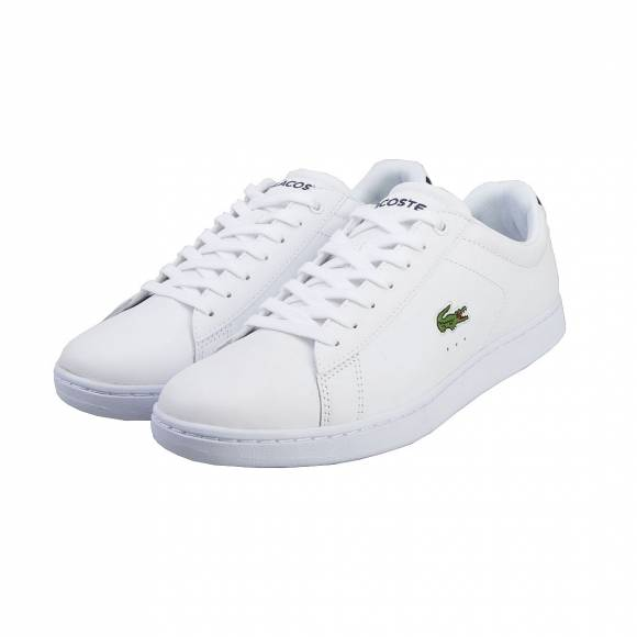LACOSTE CARNABY EVO BL1 SPM WHT LEATHER/SYNTHETIC 7-33SPM1002001