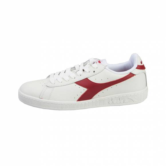 DIADORA T1 T2 GAME L LOW WAXED C6313 WHITE/CHILI 50116082100