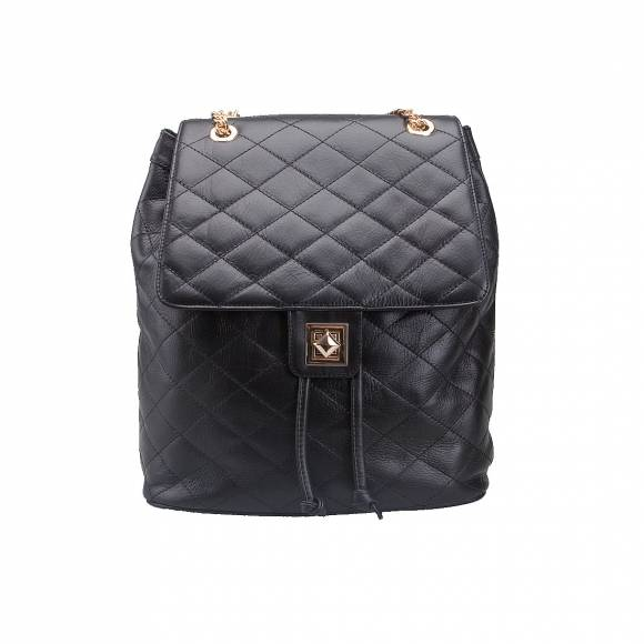 FOUR KNOT 0057 BLACK LEATHER