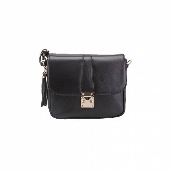 FOUR KNOT 0060 BLACK LEATHER
