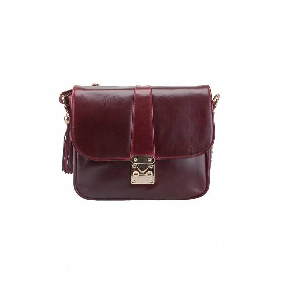 FOUR KNOT 0060 BORDEAUX LEATHER