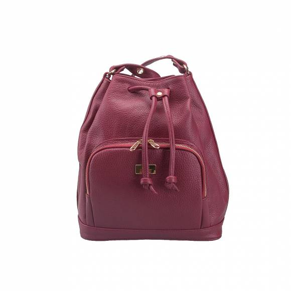 FOUR KNOT 0054 BORDEAUX LEATHER ΣΑΚΙΔΙΟ ΩΜΟΥ