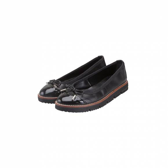 VERRAROS DONNA 6941 BLACK LEATHER