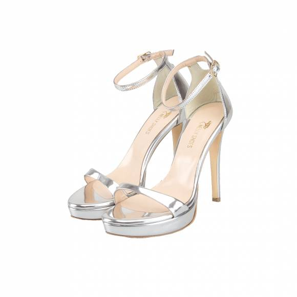 NELLY SHOES 099 038 F2 SILVER