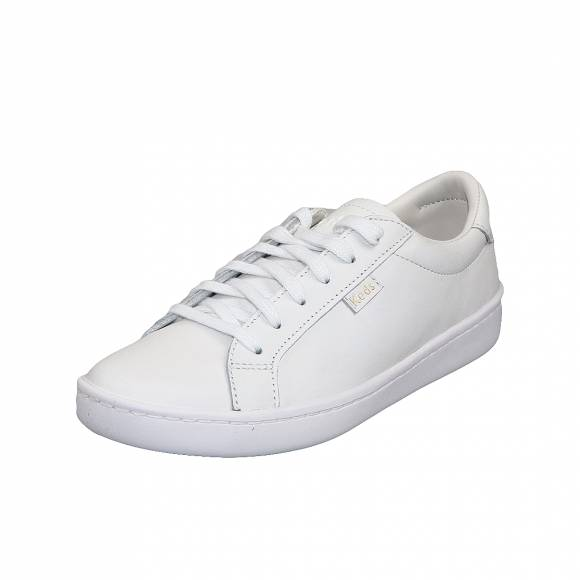 Γυναικεία  Sneakers Keds Ace Leather White WH56857