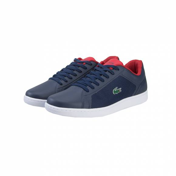 LACOSTE ENDLINER 117 1 SPM NVY/RED  TEXTILE/SYNTHETIC 7-33SPM1005144