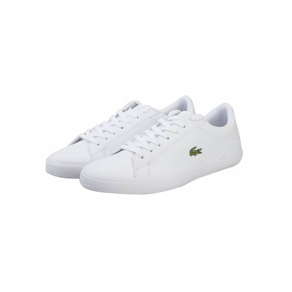 LACOSTE LEROND BL 1 CAM WHT LEATHER/SYN 7-33CAM1032001