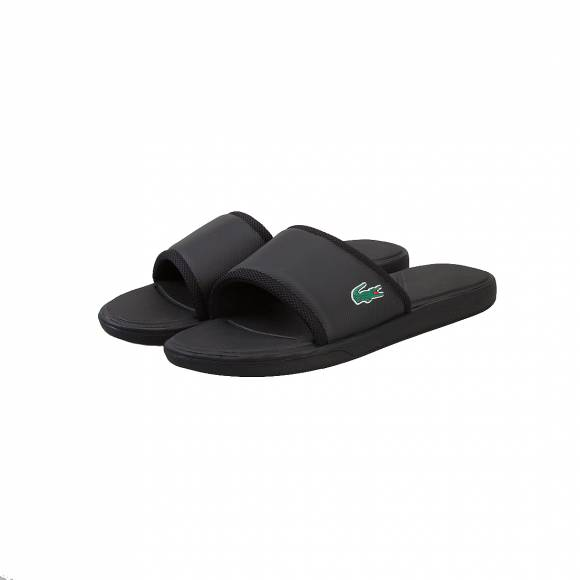 LACOSTE L.30 SLIDE SPORT PRICE 731SPM2169024 BLACK