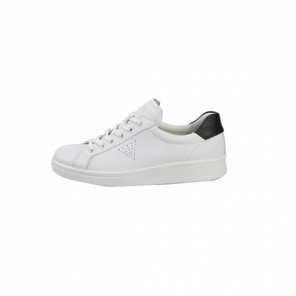 ECCO 21803351227 SOFT 4 WHITE BLACK
