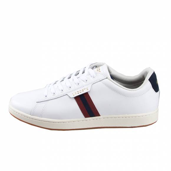 Ανδρικά Sneakers Lacoste Carnaby Evo 7 38SMA0030407 319 1 SMA Wht Red Leather