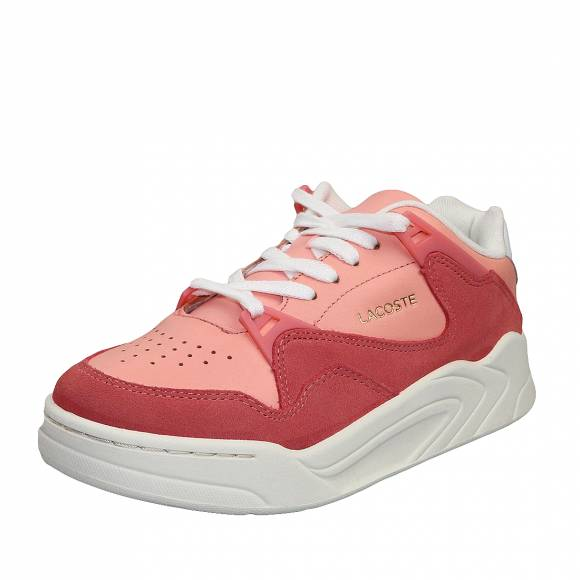 Γυναικεία Δερμάτινα Sneakers Lacoste Court Slam 7 39SFA0033PW1 120 4 US SFA PNK Off Wht