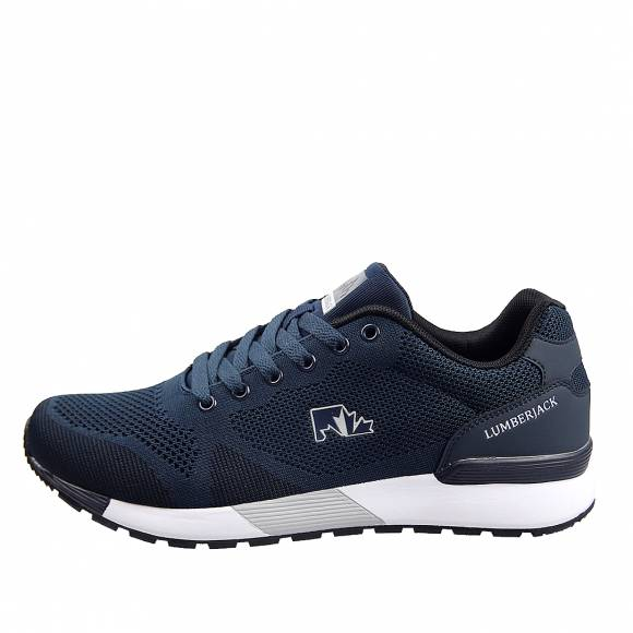Ανδρικά Sneakers Lumberjack Vendor SM62105 001 U22 M0049 Navy Blue Grey