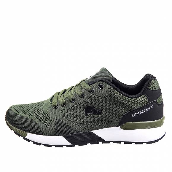 Ανδρικά Sneakers Lumberjack Vendor SM62105 001 U22 M0787 Military Green Black