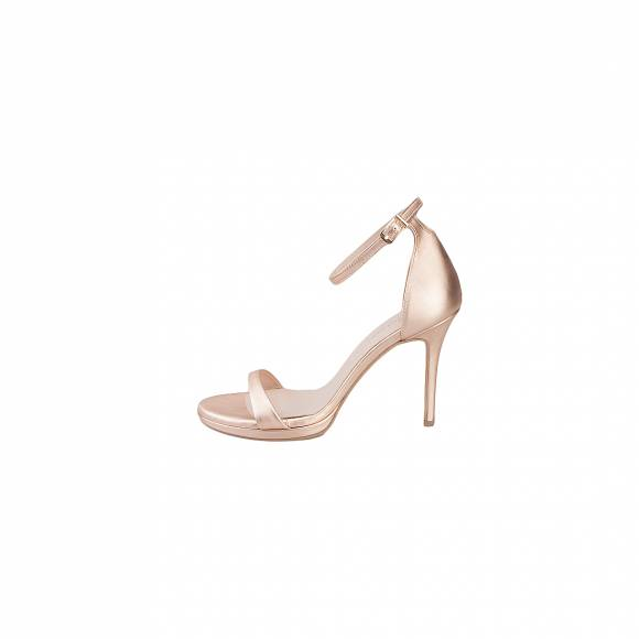 NELLY SHOES  099 38 F1 ROSE GOLD LEATHER