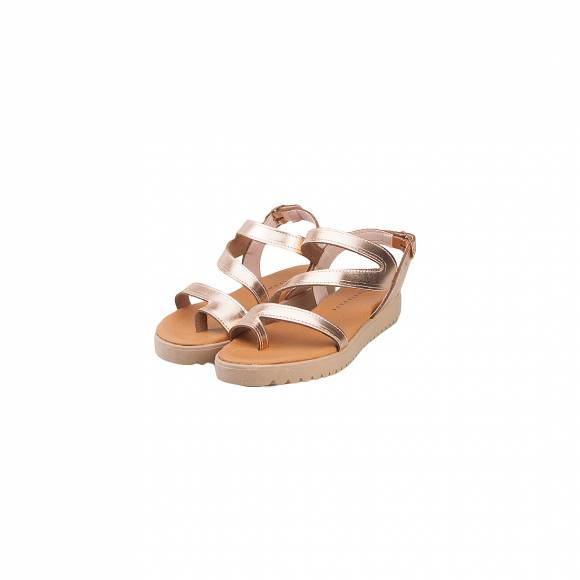 TOUTOUNIS 25186 ROSE GOLD LEATHER