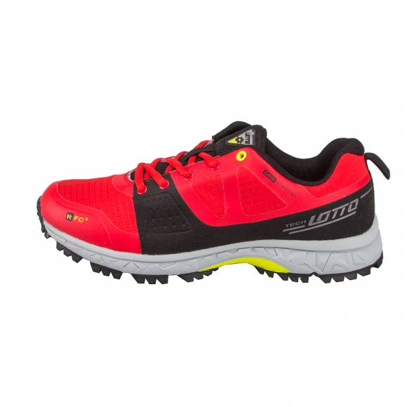 LOTTO S4453 CROSSRIDE RED REE/BLK
