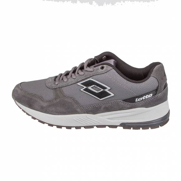 LOTTO S4185 ASPHALT/BLACK T-LEATHER GREY
