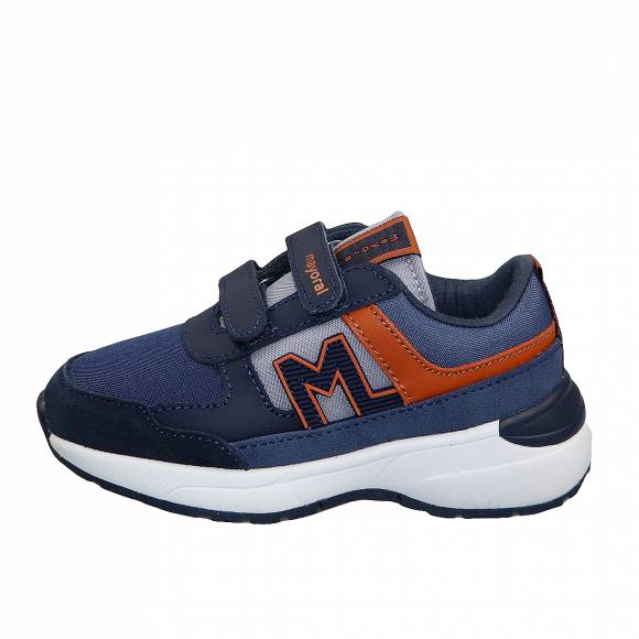 Παιδικά Δερμάτινα Sneakers Mayoral 43 213 Running Moda Azul 23