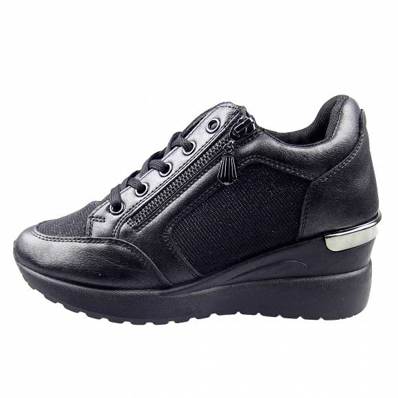 Γυναικεία Sneakers Miss Envie V85 12408 Black