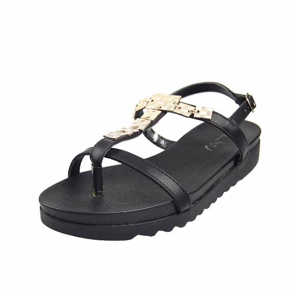Γυναικεία Flatforms Miss Envie V96 09068 34 Black