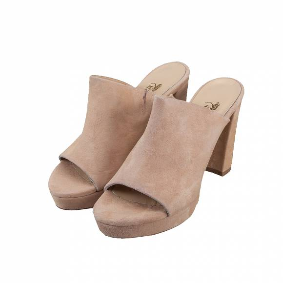 NELLY SHOES 099 67 F2 NUDE