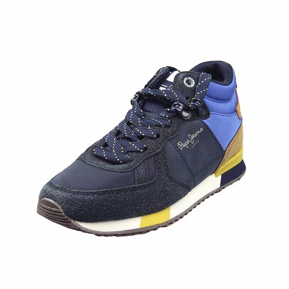 Παιδικά Sneakers Pepe Jeans PBS30463 595 Sydney 73EDT BOOT Boy Navy