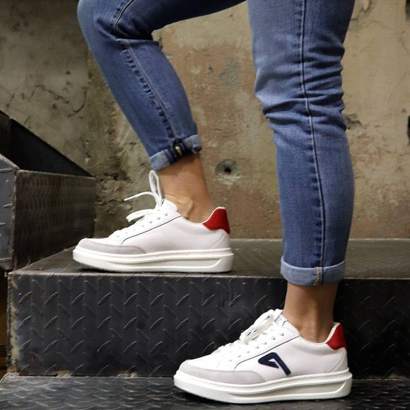 Γυναικεία Sneakers Pepe Jeans PLS30963 800 Abbey Arch White