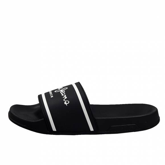 Ανδρικές slider Pepe Jeans PMS70079 999 slider basic man black