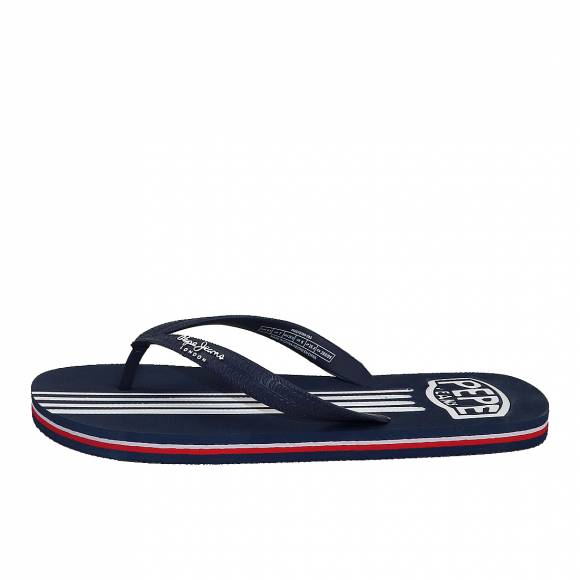 Ανδρικές Σαγιονάρες Pepe Jeans PMS70089 585 swimming stripes marine