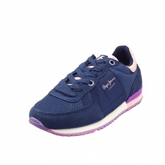 Παιδικά Sneakers Pepe Jeans PGS30452 581 Sadney Basic Girl Dark Blue